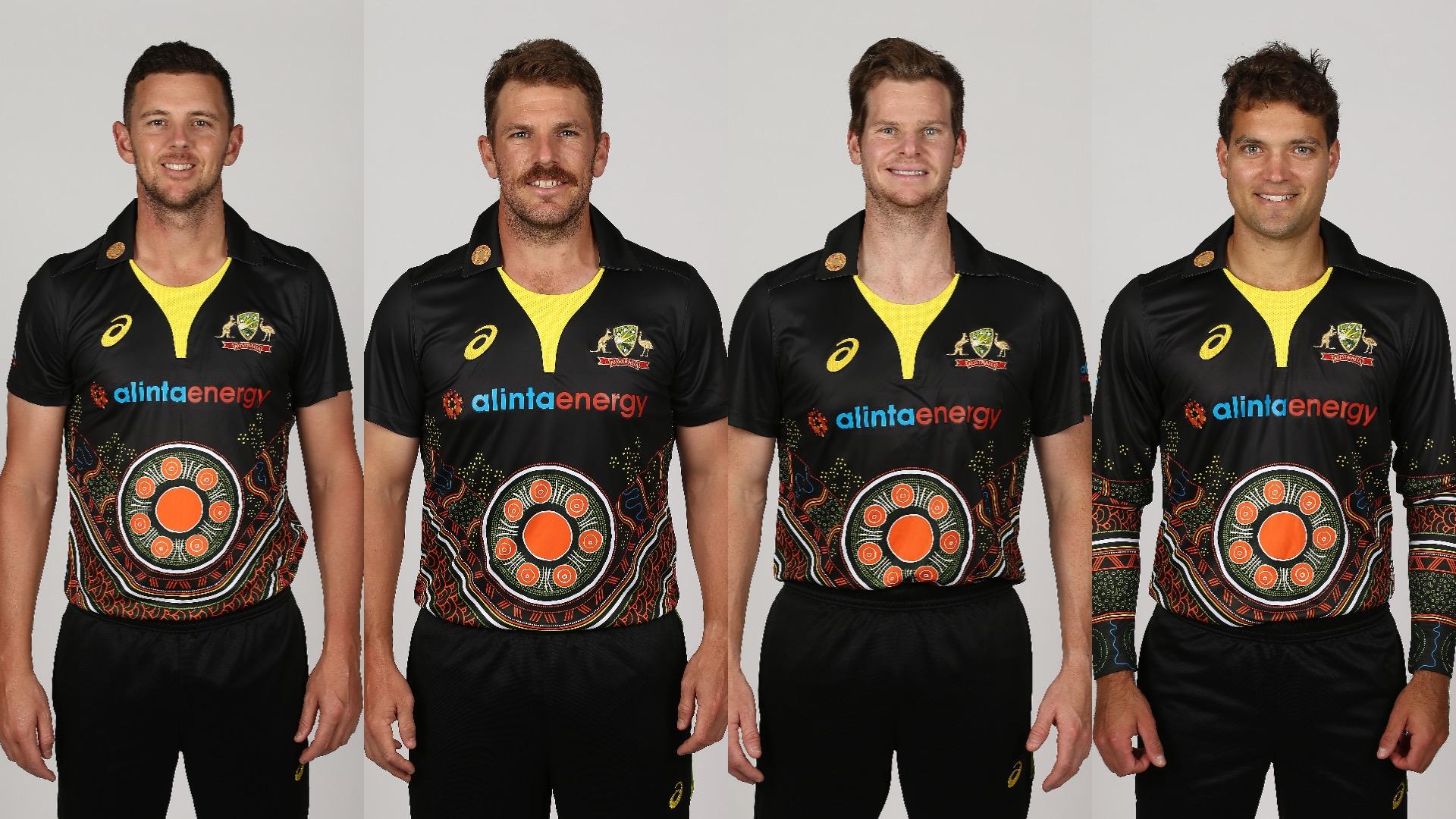 ऑस्ट्रेलियाई टीम के कॉलर पर सुनहरी कलाकृति क्यों बनी है