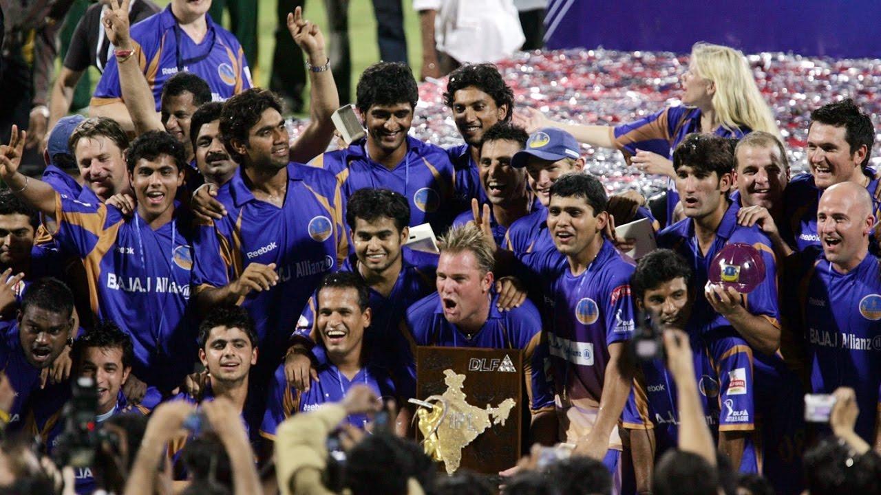 Rajasthan Royals win 2008 IPL