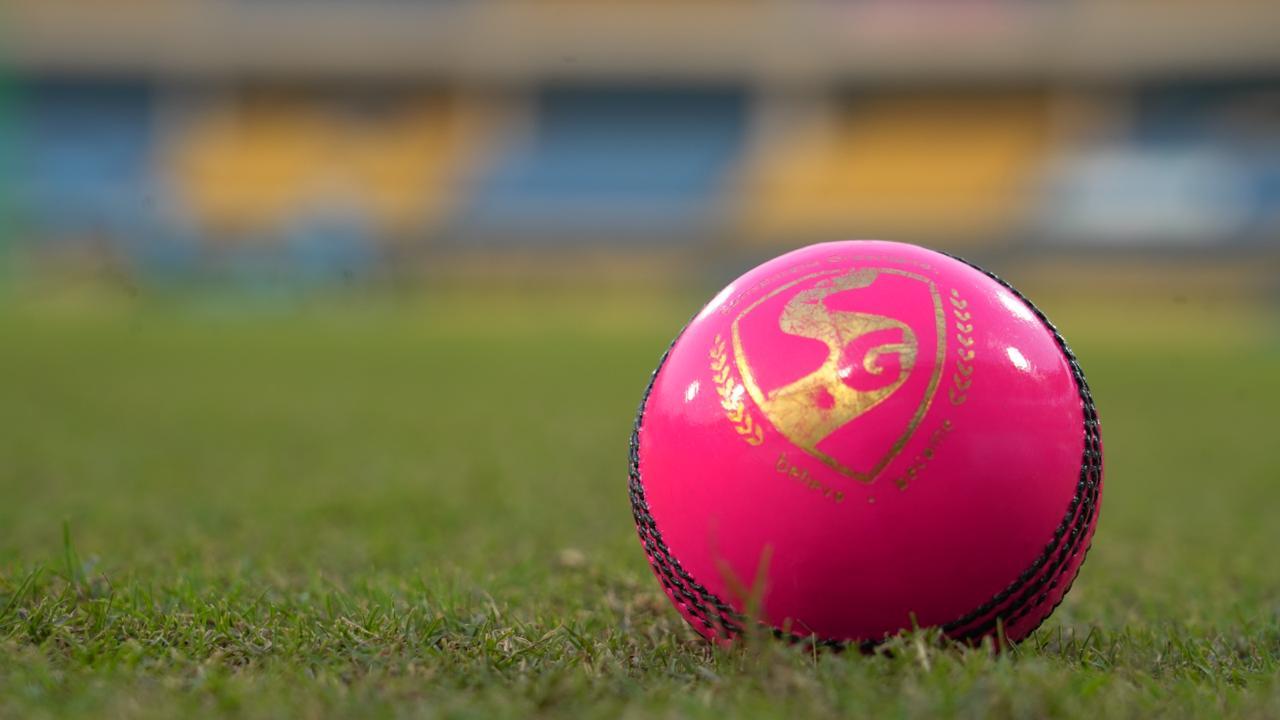 डे-नाइट टेस्ट मैच गुलाबी