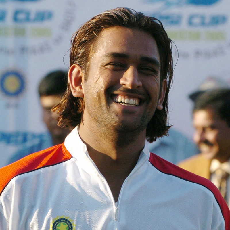 It S In The Hair Ms Dhoni And His Trending Hairstyles Over The Years